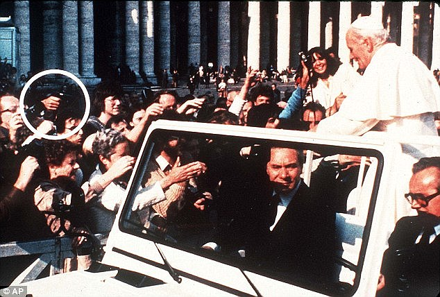 The assassin left John Paul critically injured when he fired several shots at close range in St Peter's Square