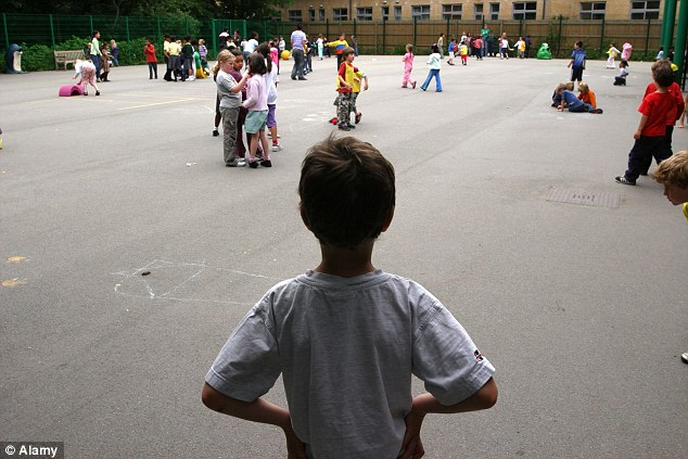 Thousands of pupils are being reported for so-called hate crimes after using innocuous words such as 'Chinese boy', 'Somalian' or 'gay' (file picture)