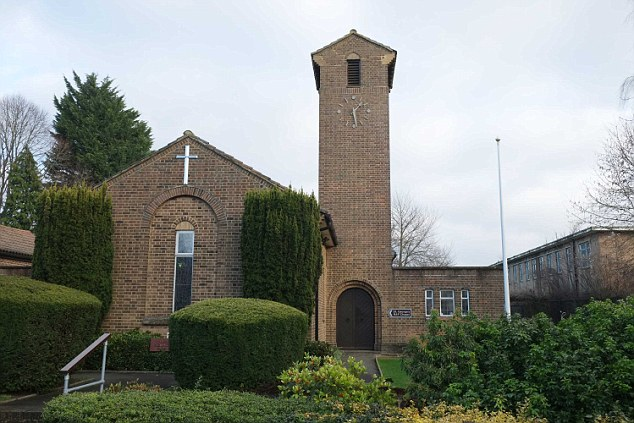 St George's Chapel, pictured,  is at the former RAF station at Biggin Hill in Kent, is threatened with closure