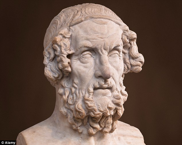 Se cunosc puține despre care Homer, văzut aici într-un bust de marmură idealizat din perioada romană, a fost într-adevăr