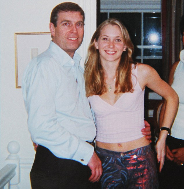 Prince Andrew (pictured with Virginia Roberts in 2001) is under growing pressure to testify on oath about his contacts with alleged underage 'sex slave' Virginia Roberts