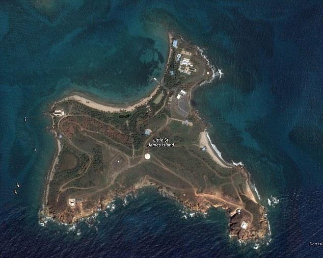 Epstein Private Jeffrey Map Island