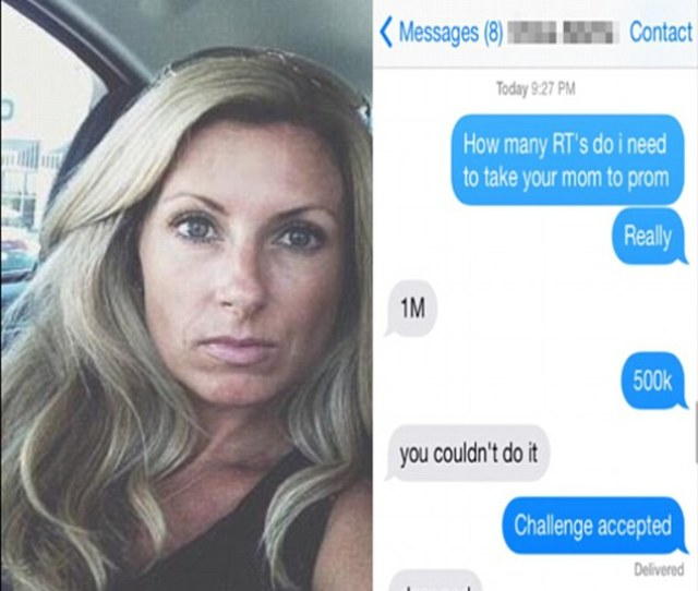 Challenge Accepted A Virginia Teen Recently Started An Online Campaign To Ask His Friends Mom