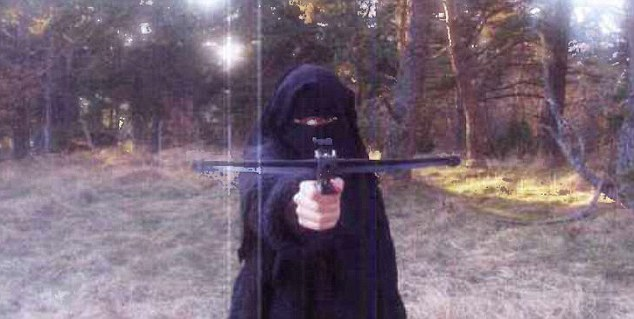 'Armed and dangerous': It is becoming clear that the one-time cashier was radicalised after meeting the man she would marry