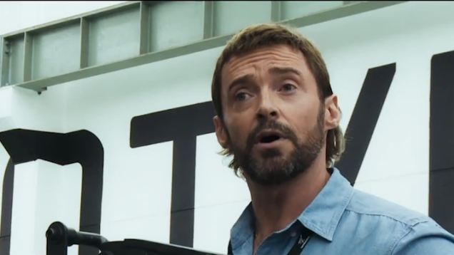 Hugh Jackman Brings Back The Mullet In New Film Chappie