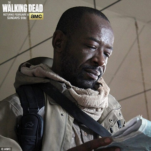 Season 1 standout: It's the same map Rick's old friend Morgan Jones (Lennie James) picked up during the midseason finale - hinting at a reunion