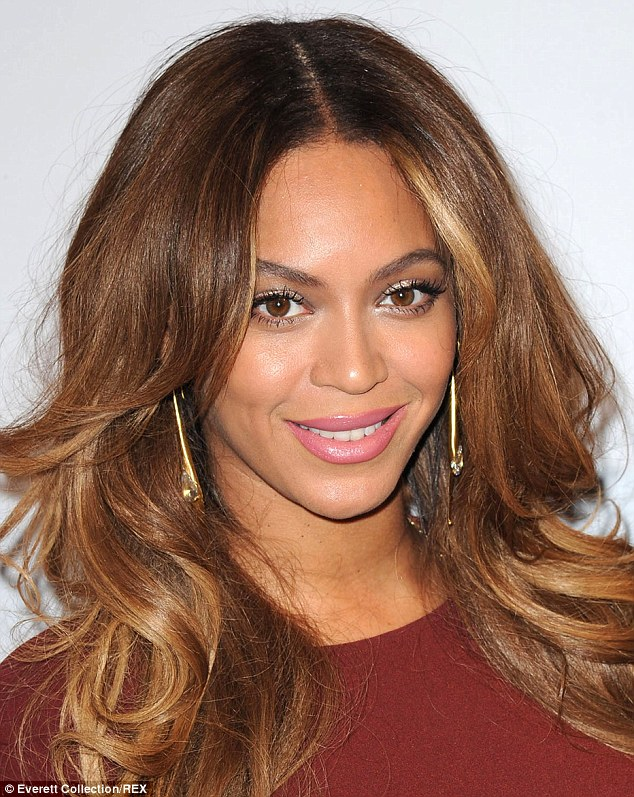 Beyoncé (pictured) is a big fan of using Vaseline on her teeth to stop lipstick smudging on them