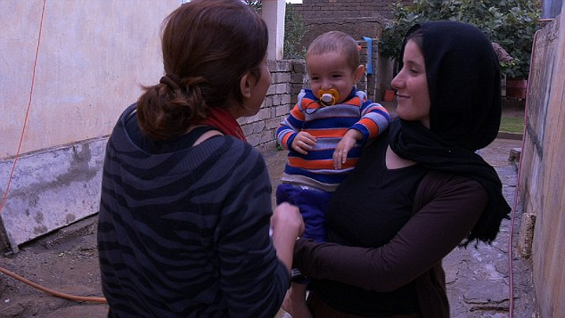 Hamshe's escape from captivity with Isis was dramatic: 'One night my baby was crying from thirst. I knocked at the door and saw all the guards sleeping outside. I took a bottle of water from them and I ran away with my baby and walked for four hours'