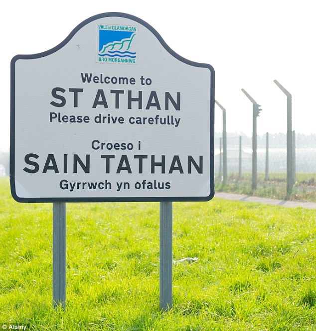 The airfield at St Athan, on the outskirts of Cardiff, is reportedly where the planes are being stored