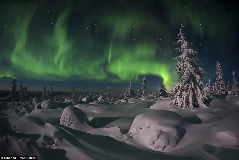 Conditions Northern Best Lights