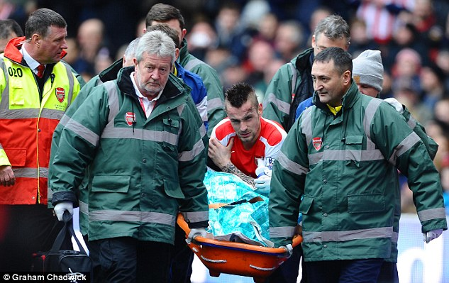 Debuchy will miss three months of the season following surgery on his shoulder