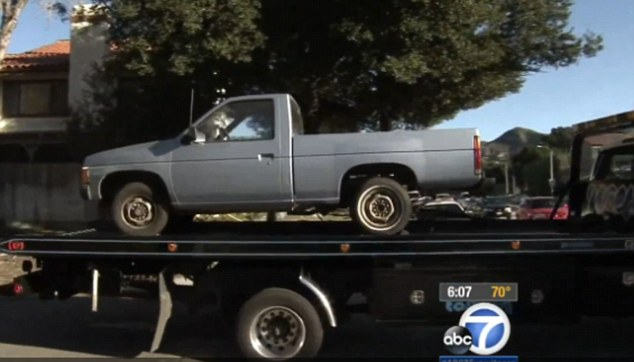 Warner was said to have later led police to a pickup truck where Ellorah was found inside the cab
