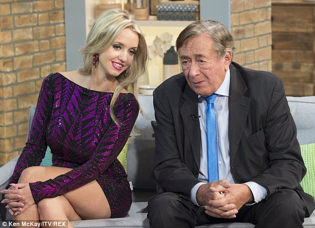 Richard Lugner, 82, married Cathy Schmitz, 25, last September. The Austrian billionaire has been married four times before. German TV star Cathy says her husband's wealth isn't important
