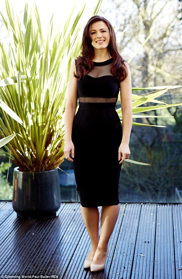Zoe is 2015's Miss Slinky, a prize given tothe female slimmer who's had the most inspirational transformation
