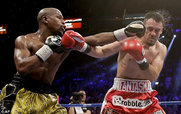 Image result for floyd mayweather fight
