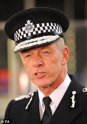 Sir Bernard Hogan-Howe (pictured) wants to develop a reserve firearms squad to tackle the 'real and present' threat of a terrorist gun plot in London
