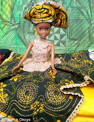 The dolls' are modelled on three of the country's biggest tribes and aims to promote strong feminine ideals