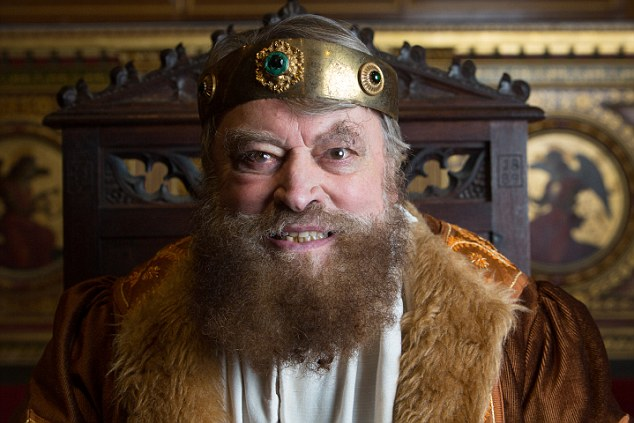 Image result for trump as king lear