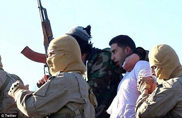 ISIS threatened to kill Kasasbeh (centre) if a deadline was not met for the release of would be Rishawi