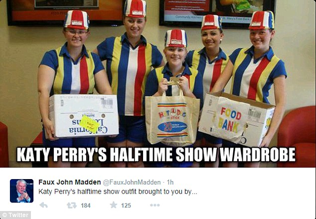 Katy Perry S Super Bowl Half Time Performance Leads To Internet