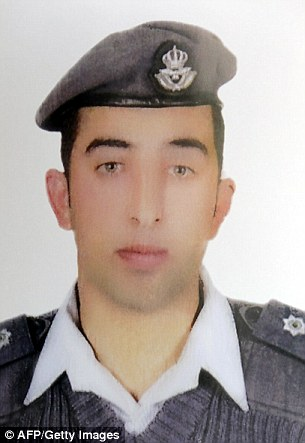 Hostage: Jordanian pilot Mu'adh al-Kasasibah