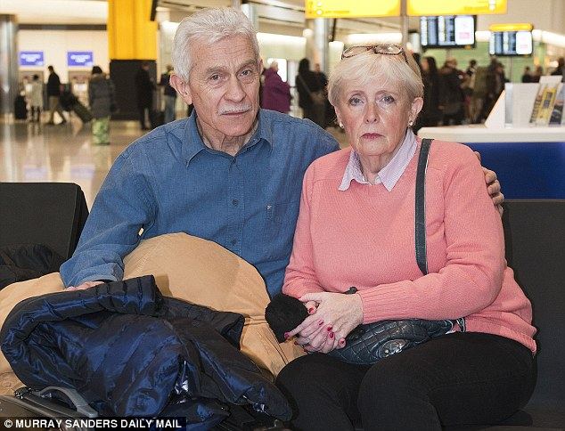 Alan Lane and Katrina Smith have been inundated with offers of accommodation from kind-hearted strangers since sharing their story. The couple have been sleeping at Heathrow Airport after losing their home 18 months ago