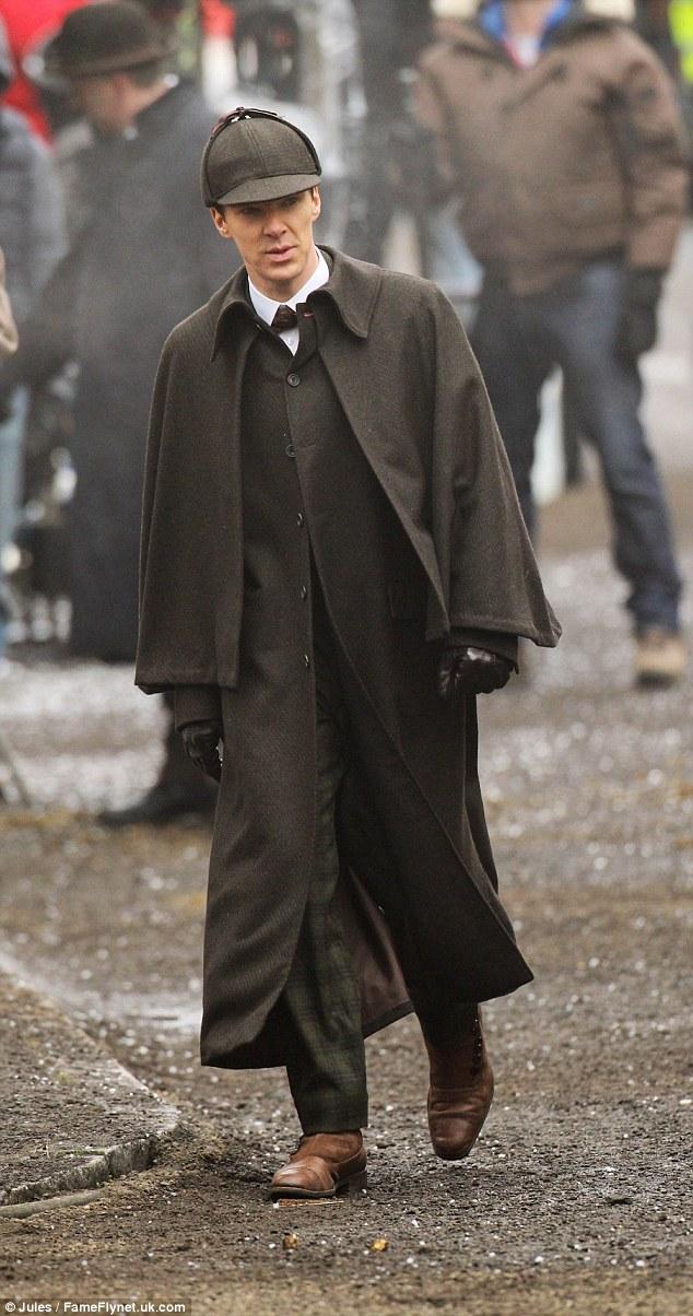 Benedict Cumberbatch And Martin Freeman Don Dapper