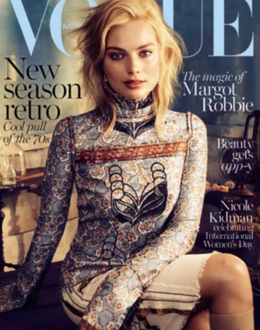 Shooting star: Margot tells the March issue of Vogue Australia that she fears her career may have peaked too soon following her bombshell role as Naomi Lapaglia in the Academy Award winning The Wolf of Wallstreet opposite Leonardo DiCaprio
