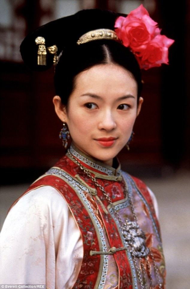 Famous role: Zhang catapulted to stardom in the West with the Oscar-nominated Crouching Tiger, Hidden Dragon