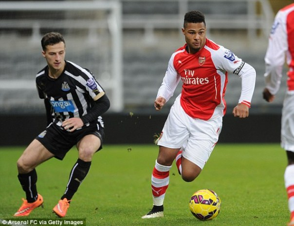 Gnabry made his first appearance for 11 months after recovering from knee injury