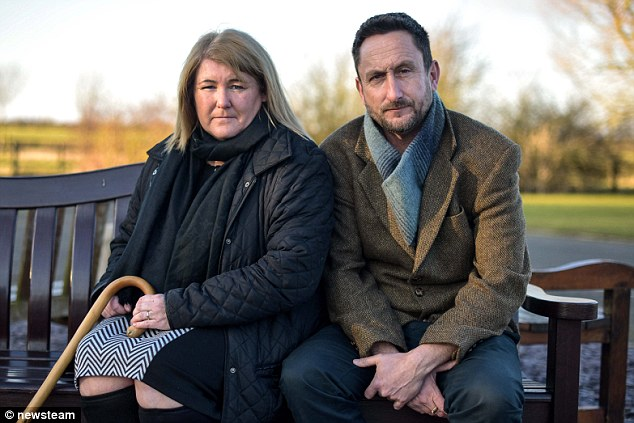Tracy Smith, 46 and her husband Sean, 47, said they will fight 'tooth and nail' to stop any exhumation