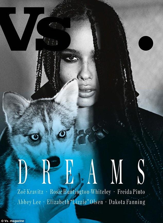 Zoe Kravitz - VS Magazine Cover