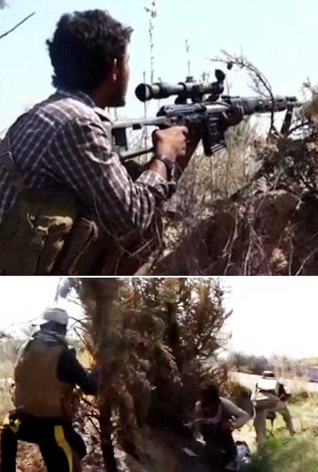 Las fuerzas de seguridad iraquíes mataron a ocho asaltantes ISIS que vestían uniformes del ejército iraquí durante un ataque contra la base aérea de Ain al-Asad, donde 320 marines estadounidenses están actualmente entrenando tropas iraquíes