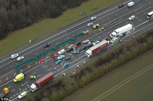 M40 And M1 Crashes Leave Four Dead And Nearly 50 Injured