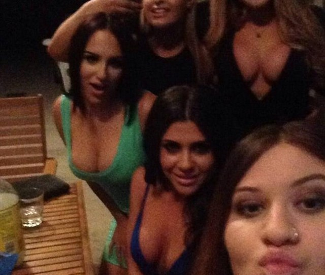 A Definite Dress Code On New Years Eve The Sisters Shared Snaps From Their Night