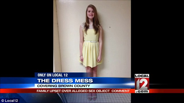 Teacher Tells Ohio Schoolgirl Told To Cover Up Her Arms At