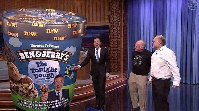 Ben Amp Jerrys Newest Flavor The Tonight DOUGH Celebrates