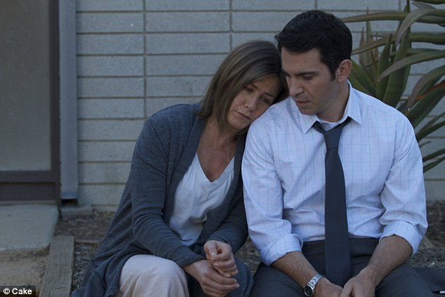 David and Valerie feel that Jennifer Aniston (pictured left) plays a powerfully moving character in the new film. 'We saw a very close resemblance to Julia so often in the film,' they said