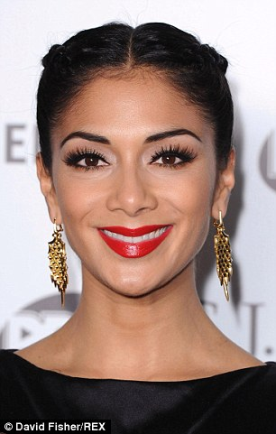 Celebrities such as Nicole Scherzinger are often pictured wearing false lashes, which experts say allow more dust and air to hit the eyes, drying them out