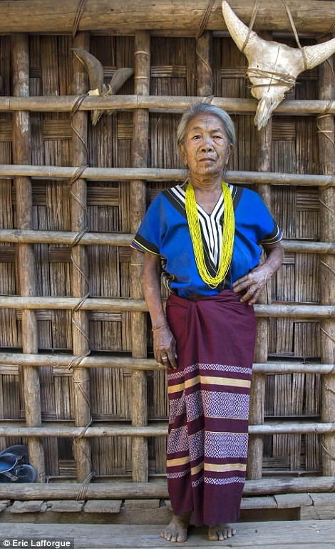 Traditional lives: All three tribes live in remote mountain villages and as a result, live much the same way as they always have