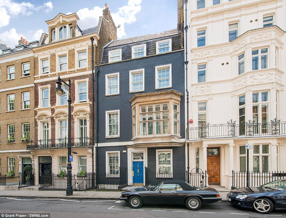 London Home That Fashion Designer Gianni Versace Wanted Is