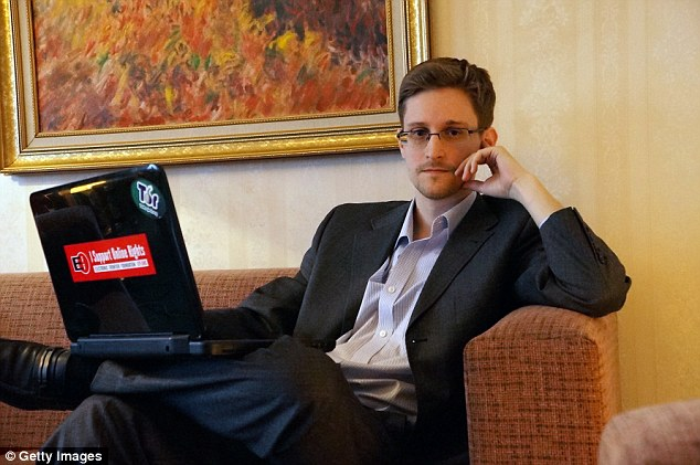 Edward Snowden (above) may finally return home to the United States it was revealed on Tuesday