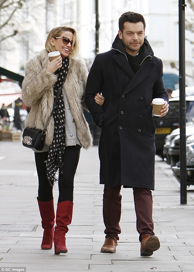 New Love Sarah Harding Left Was Pictured With A New Man On Saturday