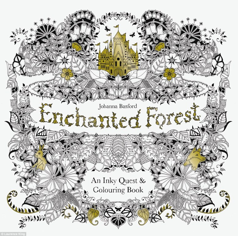 enchanted forest coloring book philippines - stylish coloring books