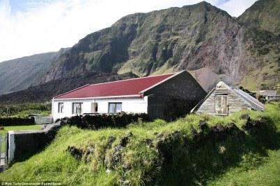 Some typical housing in Edinburgh, where all 297 locals of the Tristan da Cunha archipelago live