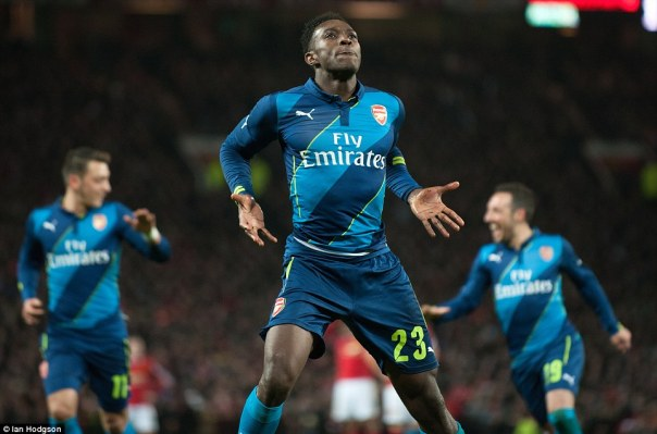 Former Manchester United striker Danny Welbeck struck past David de Gea to eliminate his former side from the FA Cup