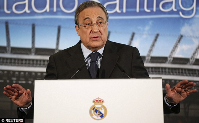 Image result for florentino Perez angry