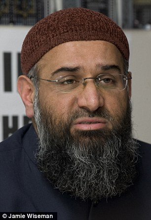 While in the UK, Dr Ali was a close associate of extremist cleric Anjem Choudary (pictured) as well as a number of UK jihadists who have gone to fight for Islamic State in Syria
