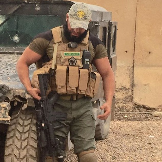 Islamic State face a tremendous task to hold on to the Iraqi city of Tikrit and with the arrival of the Iraqi Rambo, morale is high among the Iraqi Shi'a militias.