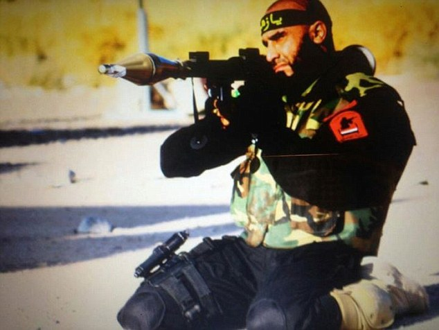 Determined to defend his home and country, Abu Azrael joined the Imam Ali brigade, a Iraqi Shi'a militia heavily supported by Iran